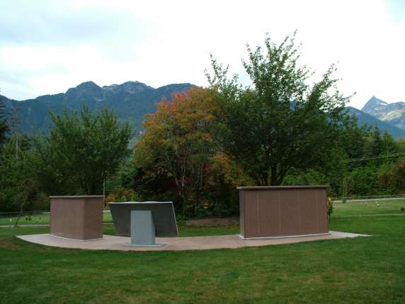 Mt Garibaldi Cemetery in Squamish